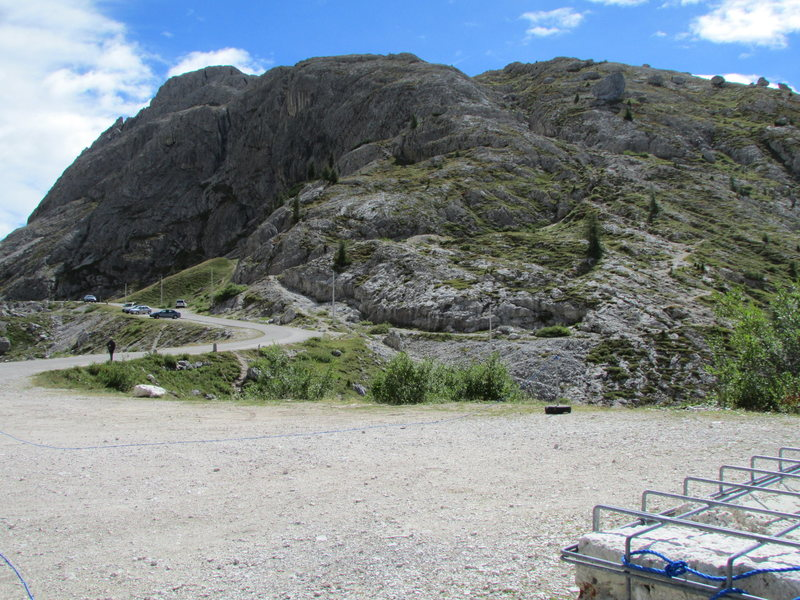Rock Climbing Photo: Descent from Hexenstein.