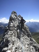 Rock Climbing Photo: Top of the Thumb