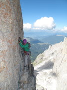 Rock Climbing Photo: Traverse pitch on Index Finger