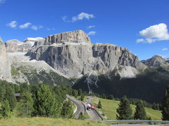 Rock Climbing Photo: Piz Pordoi, near the Sella Pass.