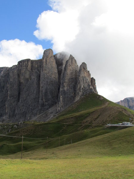 The iconic Sella Towers.