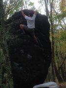 "Rock Climbing Photo: Brock Hanna climbing  ""Ranger Rick"" (v1)..."