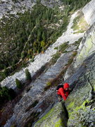 Rock Climbing Photo: Spectacular position on the Central Wall. caughtin...
