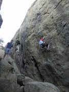 Rock Climbing Photo: TR on Scurf