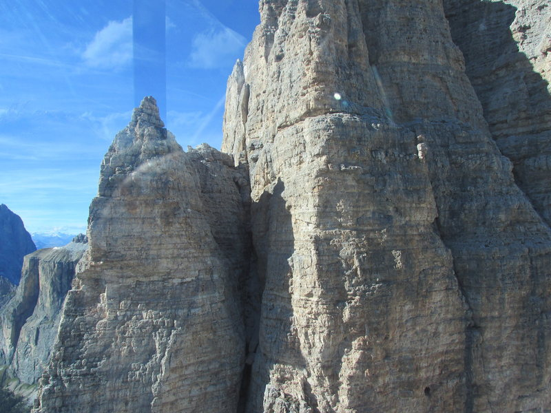 Rock Climbing Photo: Upper terrain from Seilbahn.