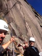 Rock Climbing Photo: Taking a break with Jon Sykes on The Ghost C2 fall...