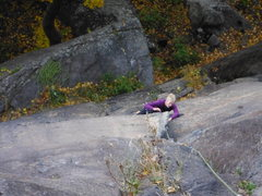 Rock Climbing Photo: Paralysis P1