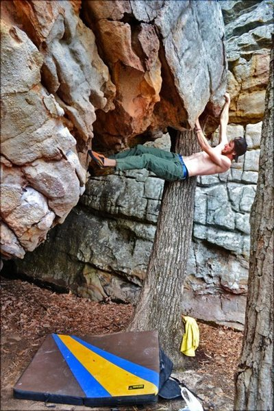 Rock Climbing Photo: Deciduous Enema