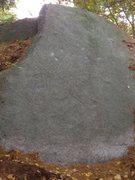 Rock Climbing Photo: Vestigial Tail, V4.  Climb the face using the shar...