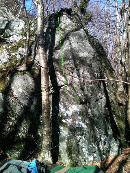 Rock Climbing Photo: Warm up