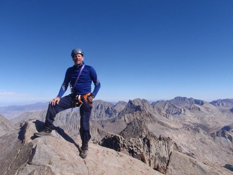 Rock Climbing Photo: Summit of North Palisade