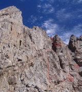 Rock Climbing Photo: LeConte Couloir Route