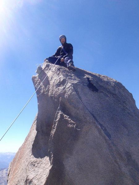 Rock Climbing Photo: Summit of Thunderbolt