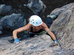 Rock Climbing Photo: Cholla Crack, White Rock NM