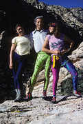 Rock Climbing Photo: Not sure if its 70's but its Lycra...