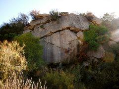 Rock Climbing Photo: Top roping on the Upper Ridge.