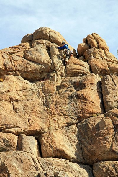 climbing Locals Only at Benton Crag. Photo Credit: Dave Faustini