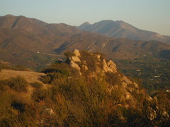 Rock Climbing Photo: 'The Nest', as viewed from the top of the Red Wind...
