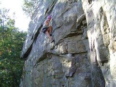 Rock Climbing Photo: Finishing Narcissism