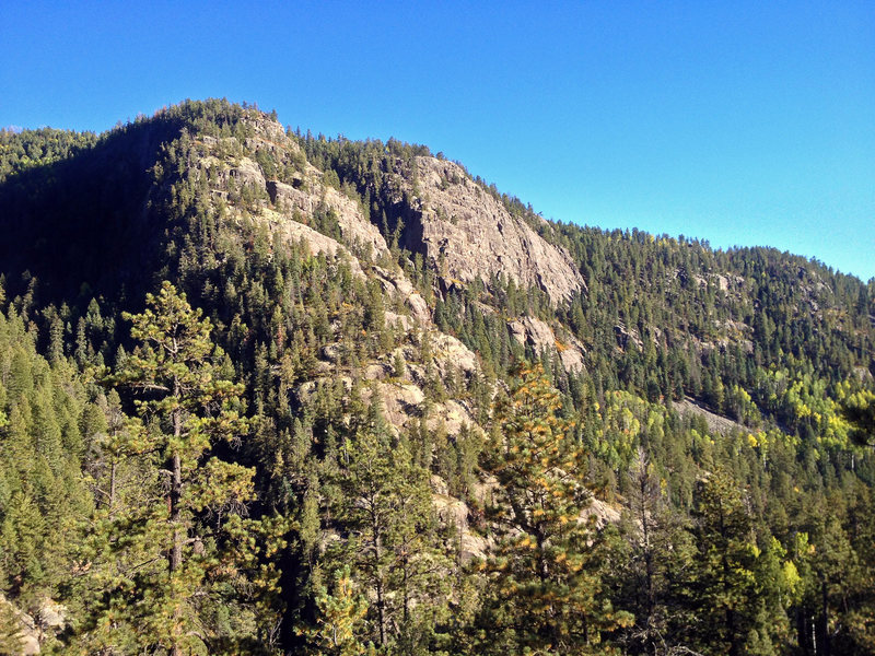 Vallecito Crags.