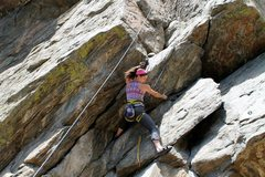Rock Climbing Photo: I think this is high wire...
