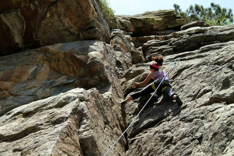 Clear Creek Canyon, Leftwire, Manifest (except I've sort of wandered onto Trad Intent here..)