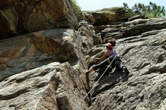 Rock Climbing Photo: Clear Creek Canyon, Leftwire, Manifest (except I'v...