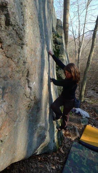 Rock Climbing Photo: Good luck!