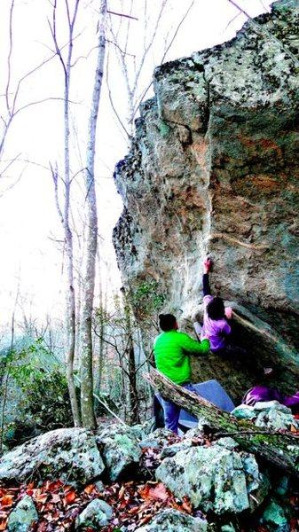 Rock Climbing Photo: Biggin