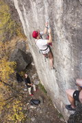 Rock Climbing Photo: haha