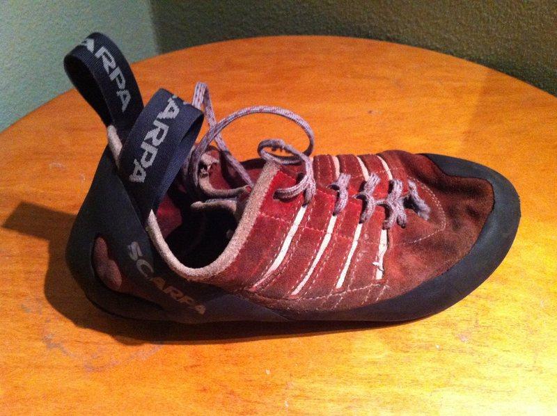 Rock Climbing Photo: FOUND: Scarpa Shoe