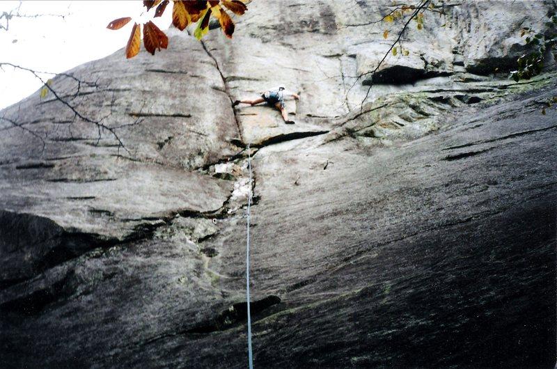 Rock Climbing Photo: Having fun on Dum Dee Dum Dum