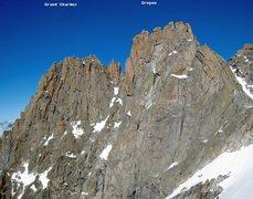 "Rock Climbing Photo: Historic note ""original"" Grepon near Cha..."