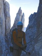 Rock Climbing Photo: Santner Pass