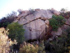 Rock Climbing Photo: Cori going 'Cori's Way'.