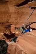 Rock Climbing Photo: early attempts on the sedona mega-proj, 2012   pho...