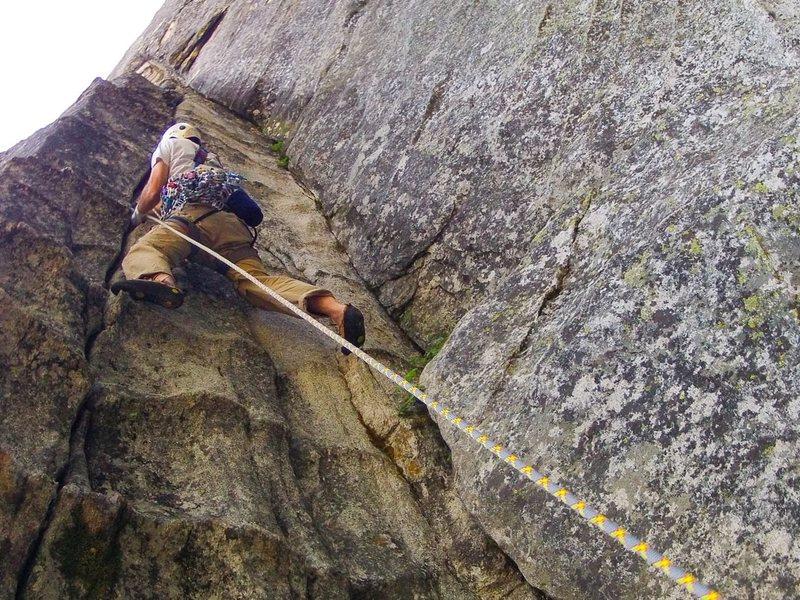 Rock Climbing Photo: Lover's Leap