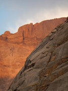 Rock Climbing Photo: Good start with the sun out on the North Ridge of ...
