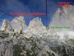 Rock Climbing Photo: Sassolungo Group