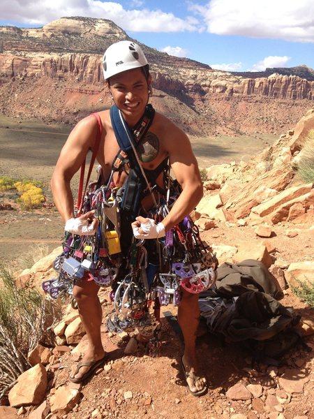 Rock Climbing Photo: Do I have enough cams?