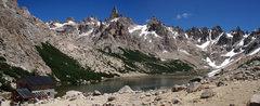 Rock Climbing Photo: Frey panoramic