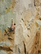 Rock Climbing Photo: Lower crux.