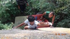 """Rock Climbing Photo: The awesome Dil Se (translation: """"From the He..."""