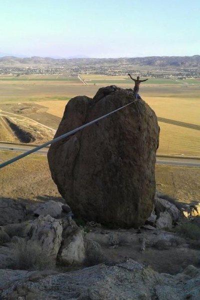 Rock Climbing Photo: BRSB Highline!