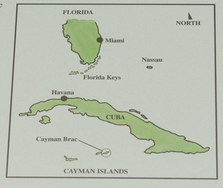 Where's Cayman Brac?
