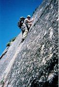 Rock Climbing Photo: Having fun on Royal Arches