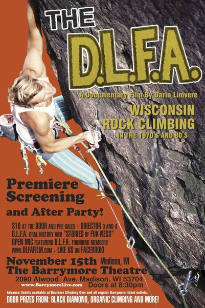 Rock Climbing Photo: Save the date!  Get hyped!