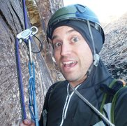 Rock Climbing Photo: Rapping over Fiddler on the Roof