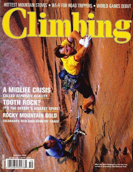 Rock Climbing Photo: Climbing #243.  Andrew Burr Photo.