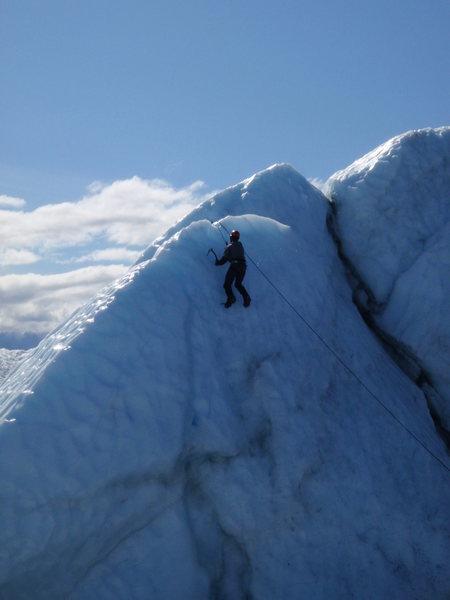 Rock Climbing Photo: Matanuska glacier, AK